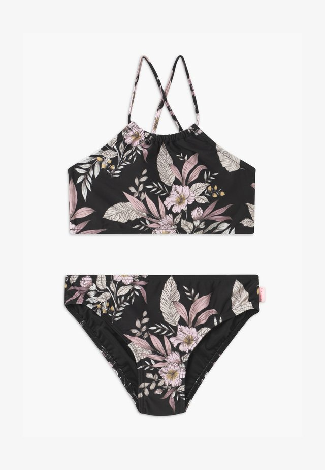 BOHO BEACH SET - Bikinit - black