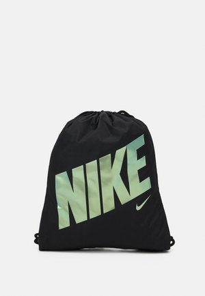 UNISEX - Drawstring sports bag - black/black/iridescent