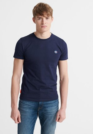 SUPERDRY ORGANIC COTTON COLLECTIVE T-SHIRT - T-shirt basic - rich navy
