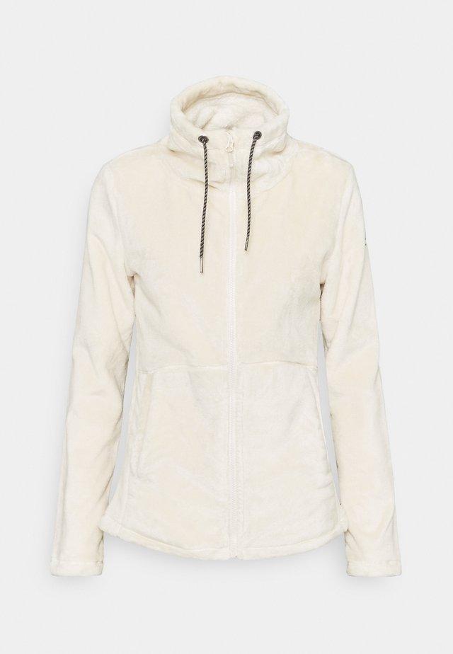 TUNDRA - Fleece jacket - angora