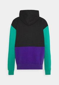 Jordan - JUMPMAN AIR - Zip-up hoodie - black/court purple/neptune green/barely volt - 1