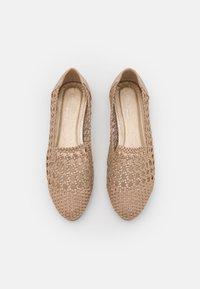 Head over Heels by Dune - GRACEYN - Ballerinat - gold/plain - 4