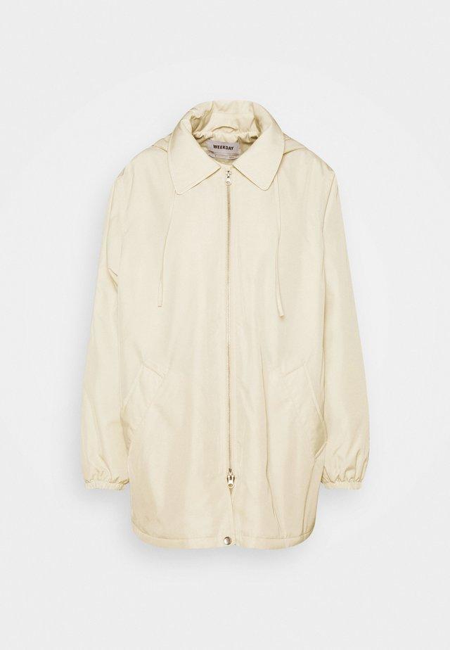 BYRON COACH JACKET - Short coat - cream