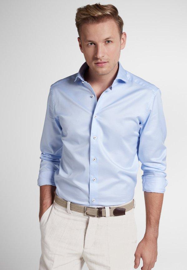 Eterna SLIM FIT - Koszula biznesowa - light blue/jasnoniebieski Odzież Męska QLJJ