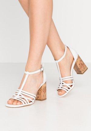 STARSTRUCK - High heeled sandals - white