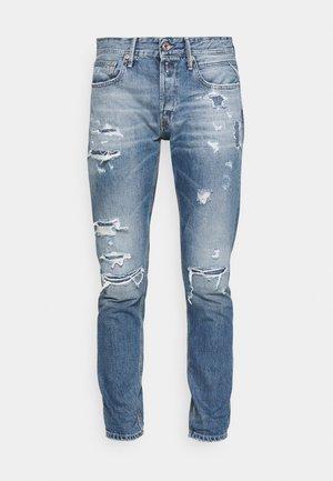 WILLBI AGED - Jeans slim fit - blue denim