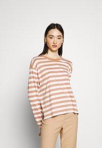 Monki - Long sleeved top - blue light/rost - 1
