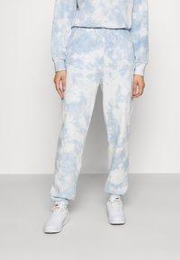 Even&Odd - SWEAT & JOGGER TIE DYE SET - Sweatshirt - blue - 3