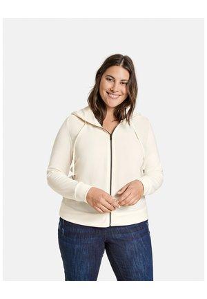 Sweater met rits - pearl