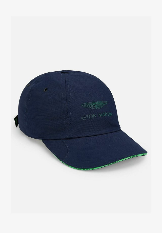 AMR ESS LOGO - Cap - navy/green
