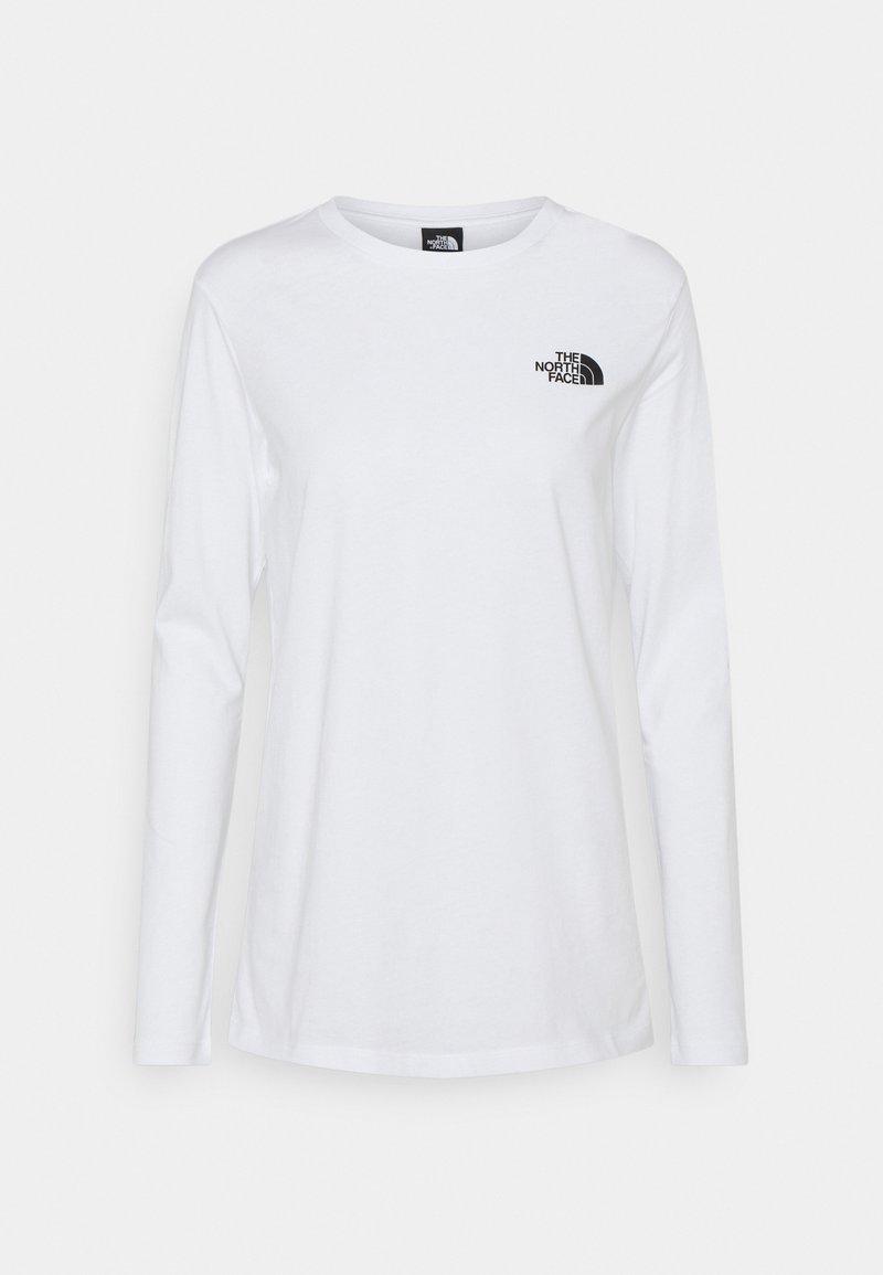 The North Face - Maglietta a manica lunga - white