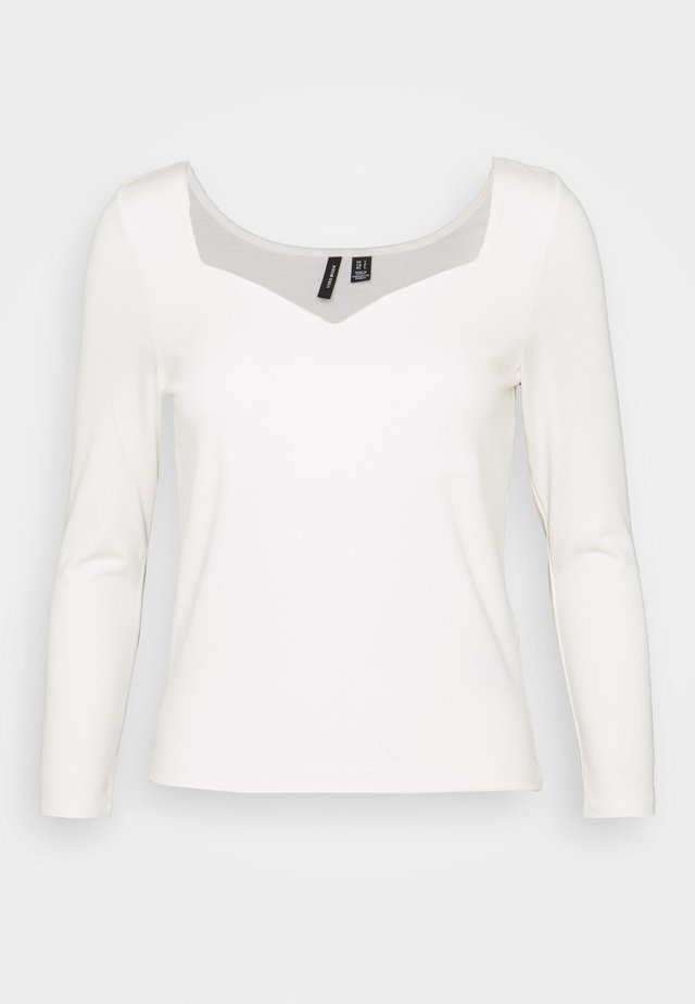 VMPANDA SWEETHEART - Maglietta a manica lunga - snow white