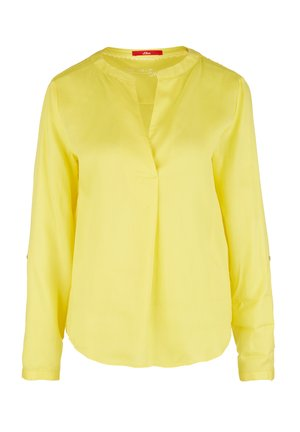 BLUSE - Blouse - light yellow