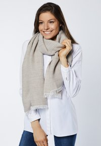 Young Couture by Barbara Schwarzer - SCHAL - Scarf - greige - 1