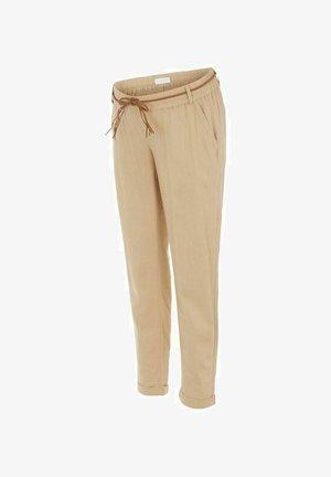 MLBEACH BELT PANT - Broek - brown
