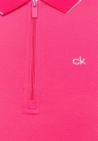 Calvin Klein Golf - NESS CAP SLEEVE - Polo shirt - jete - 2