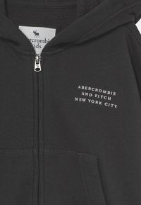 Abercrombie & Fitch - SOLID - Sudadera con cremallera - charcoal - 2