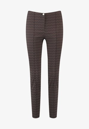 Trousers - braun/schwarz/camel