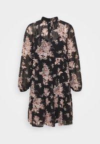 VITULLAN FLOWER DRESS - Denní šaty - black