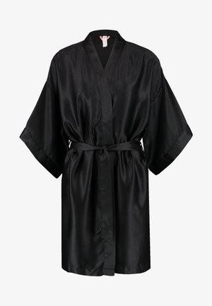 KIMONO GOWN - Dressing gown - black