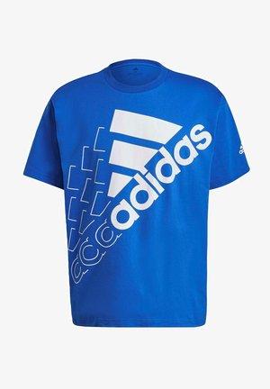 U Q3 BLUV BL T - Print T-shirt - blue