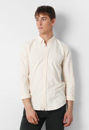 BASIC OXFORD SHIRT - Shirt - yellow stripes