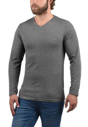 3 PACK - Long sleeved top - blue, black, white