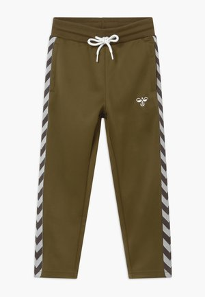 KICK - Tracksuit bottoms - military olive