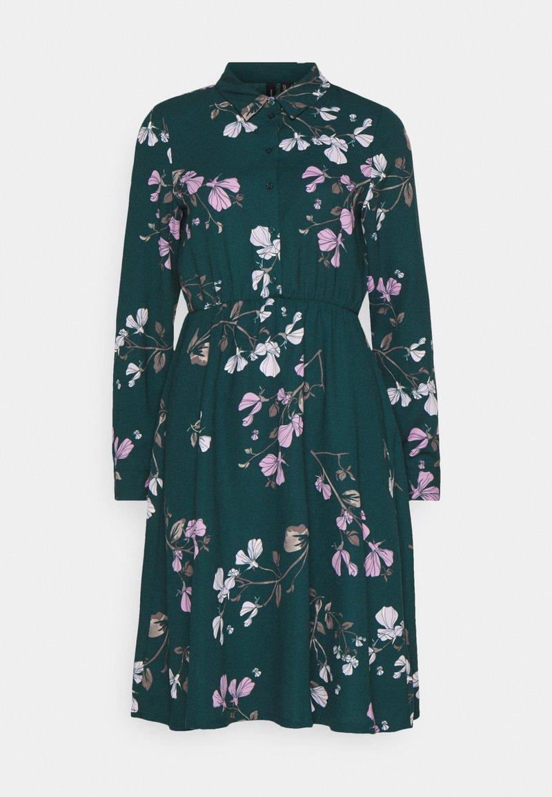 Vero Moda - VMANNIE DRESS - Vestido camisero - ponderosa pine