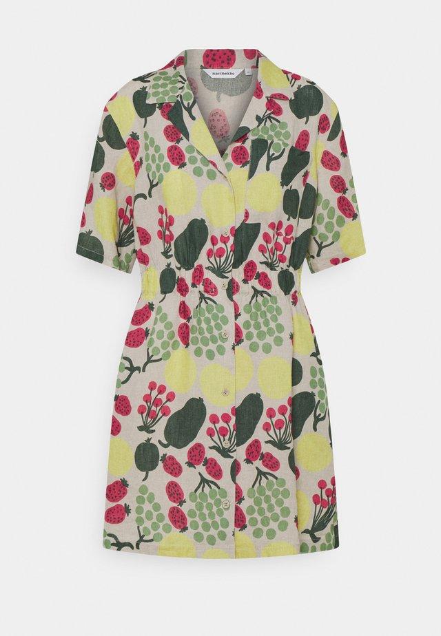 HERKKU PIENI TORI DRESS - Korte jurk - green/rose/yellow