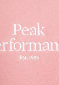 Peak Performance - ORIGINAL CREW - Sweatshirt - warm blush - 2