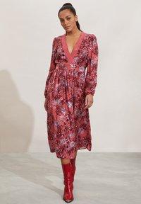 Odd Molly - JACQUELINE - Day dress - cranberry - 0