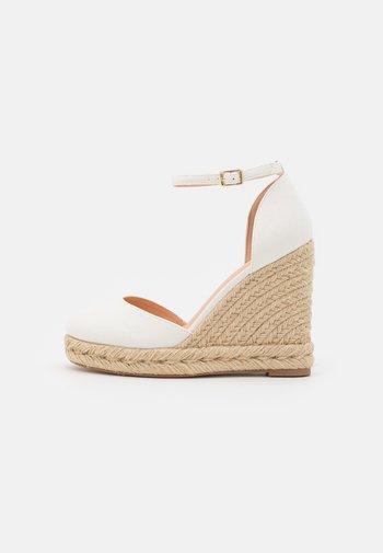 Zapatos de plataforma - offwhite