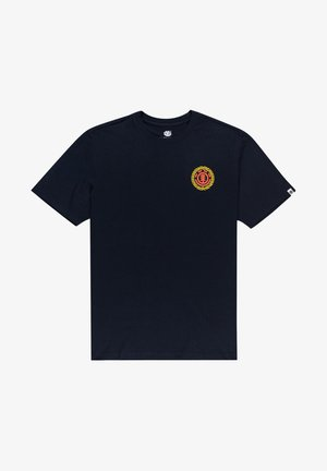 ALTUS - Print T-shirt - eclipse navy