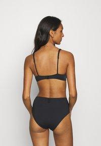 Tommy Hilfiger - SOPHISTICATED HIGH WAIST - Bikini bottoms - black - 2