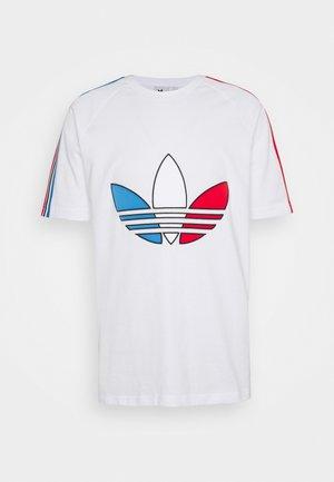 TRICOL TEE UNISEX - Print T-shirt - white
