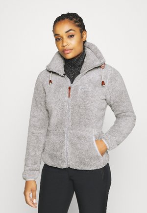 COLONY - Fleece jacket - light grey