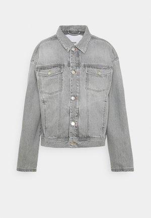 VILDA - Kurtka jeansowa - light grey