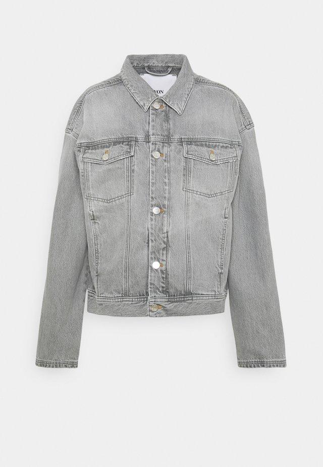 VILDA - Džínová bunda - light grey
