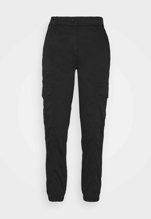 TROUSER LEISURE WEAR - Tygbyxor - black