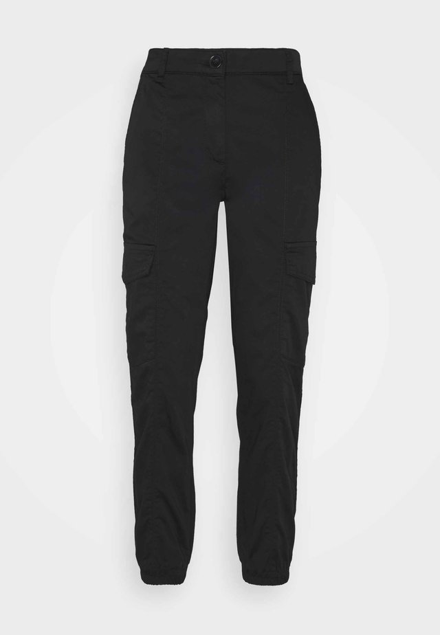 TROUSER LEISURE WEAR - Broek - black