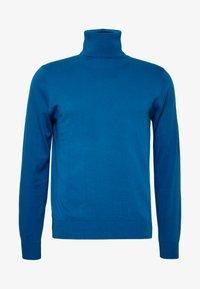 PS Paul Smith - PULLOVER ROLL NECK - Svetr - blue - 4