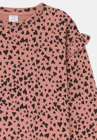Lindex - HEART PRINT - Sweater - dusty pink - 2