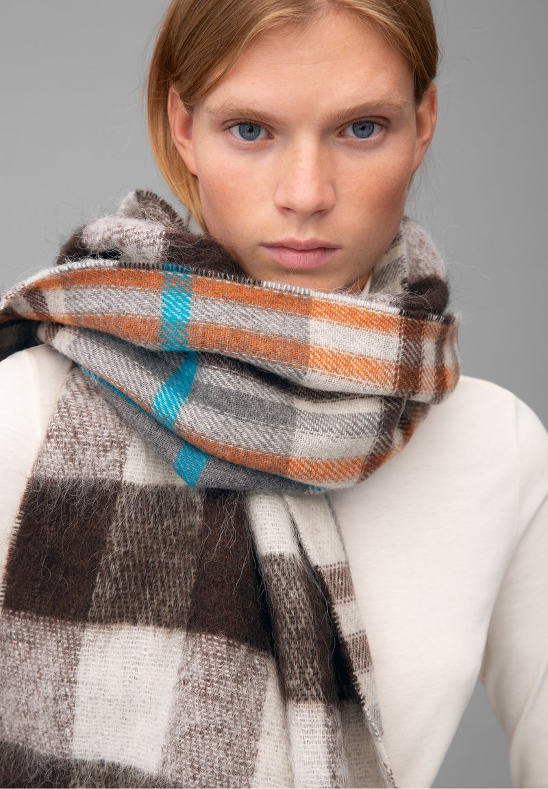 Marc O'Polo - SCARF WOVEN DOUBLE WEAVE - Scarf - multi