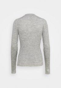 Selected Femme - SLFCOSTA - Strickpullover - light grey melange - 1