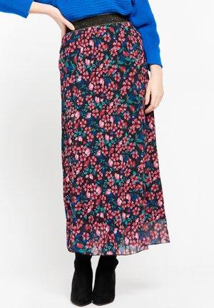Pleated skirt - fuchsia