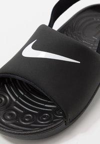 Nike Performance - Outdoorsandalen - black/white - 2