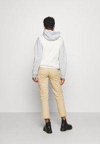 Pieces - PCSADIE VEST - Waistcoat - whitecap gray - 2