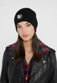 Polo Ralph Lauren - BULLDOG HAT - Czapka - black - 3