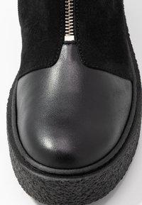 Ca'Shott - Platform ankle boots - black - 2
